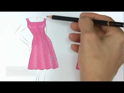 Panel Dress Sewing with Flared Skirt - Introduction (FREE SAMPLE)