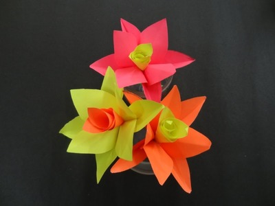 Paper Flower Tutorial: How to make a Paper Flower