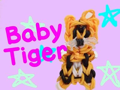 Rainbow Loom Baby Tiger Charm