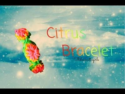 Rainbow Loom: Citrus Bracelet |theloomaticgirls
