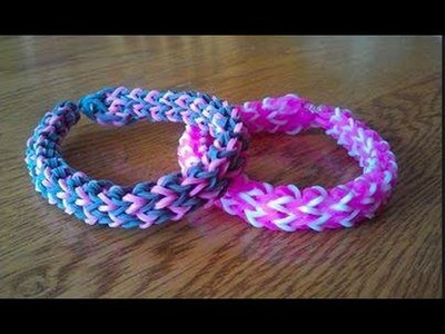 Rainbow Loom Criss Cross Quadfish Tutorial