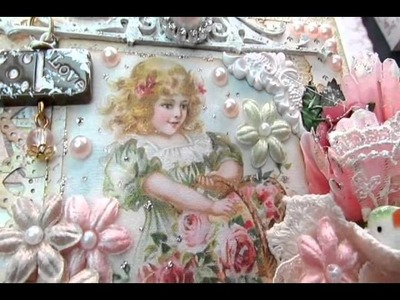 Shabby Chic Angel Wings, Decorative Hearts, Card & Box 4 Sale