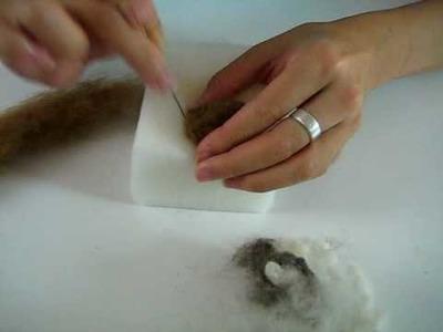 Sheep Felt Kit (Part 2 of 3) Needlefelting Tutorial (VIDEO)