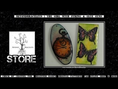 ♦ Stamped Wooden Pendants ♦ (Second Version)