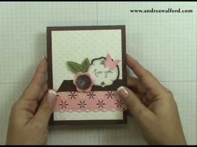 Stampin' Up! Tutorial: For You Card