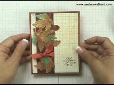 Stampin' Up! Tutorial ~ More on Aquapainters
