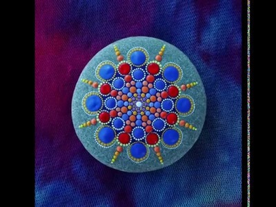 Stop motion mandala stone by Elspeth McLean music by Adam Dobres and Jason Lowe