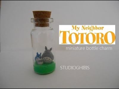 STUDIOGHIBLIS: TOTORO bottle charm