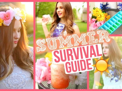 Summer Survival Guide 2015! DIY's, Treats & Lifehacks! | Emma Catherine