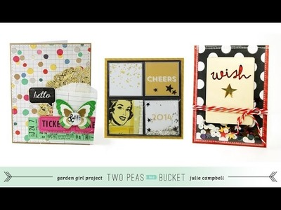 Trendy Trios Card Making With Julie Campbell: Confetti