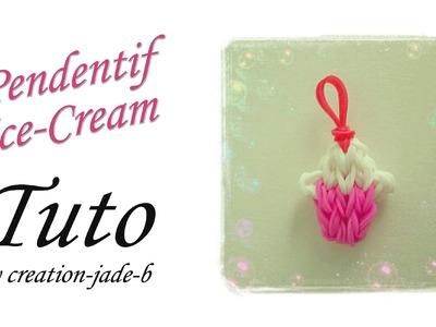 Tuto Rainbow Loom - Pendentif Ice-Cream !