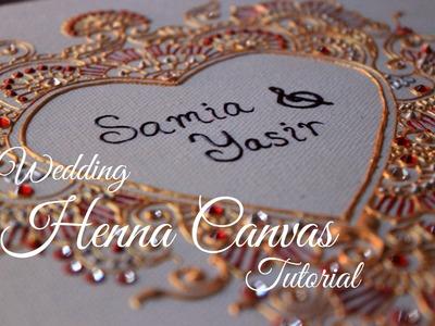 Wedding Henna Canvas Tutorial | Hennafly