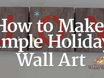 234 - Holiday Wall Art