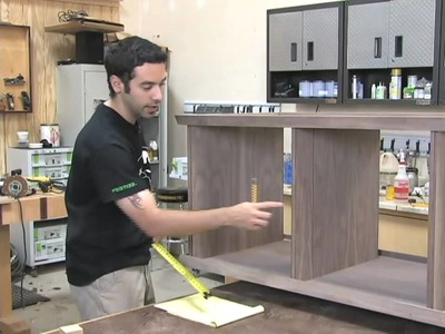 99 - How to Build a Low Profile Entertainment Center (Part 3 of 5)