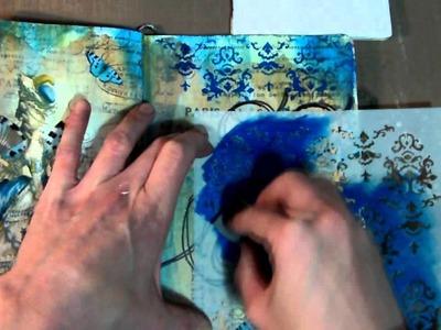 Art Journal Page - Marie Antoinette