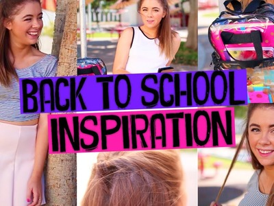 Back to School Inspiration: DIY Backpack, Heatless Hairstyle, & Outfit Ideas!