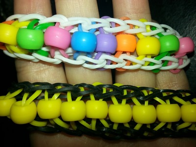 Bead Ladder Bracelet-Rainbow Loom