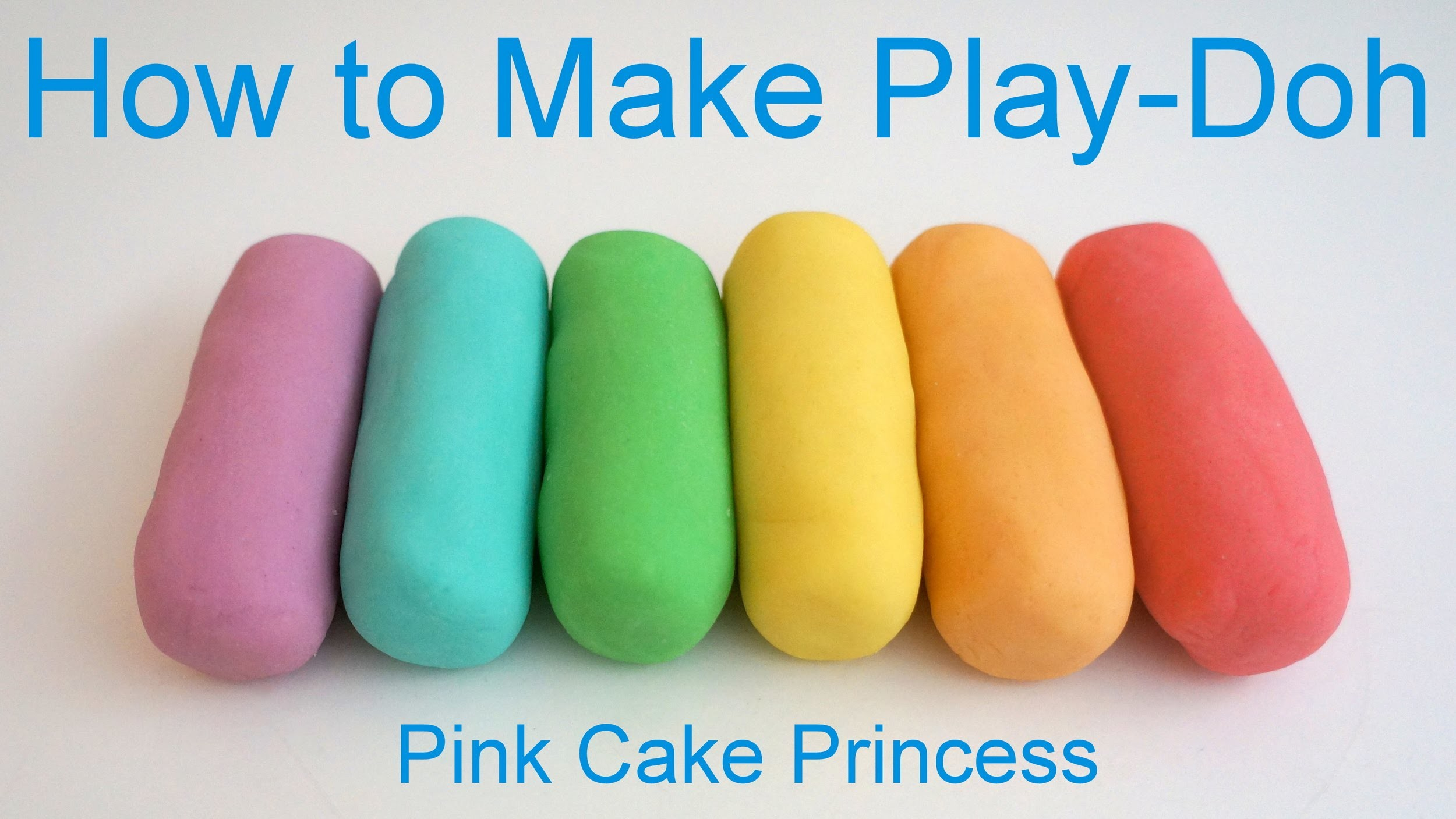 Best Play Doh Recipe! How to Make Easy Play-Doh by Pink Cake Princess