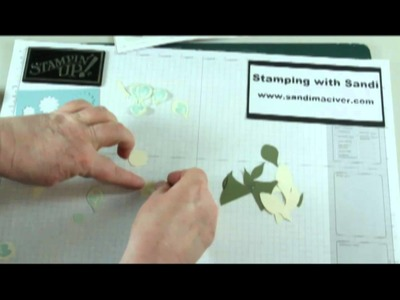 Build a Blossom - Stamping with Sandi