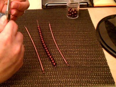 Copper Wire Wrapped Bracelet