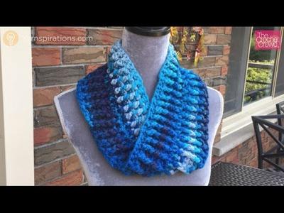 Crochet Infinity Rib Stitched Cowl