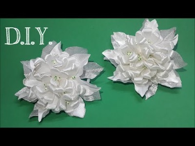 ❀ ♡ ❀ D.I.Y. Satin Jasmine Flower Bunch - Tutorial ❀ ♡ ❀