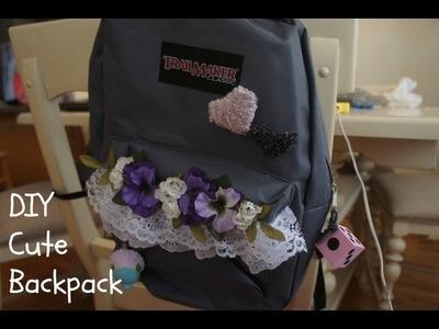 DIY Cute Backpack