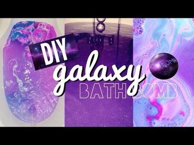 ♡ DIY GALAXY  BATH BOMB + DEMO ♡