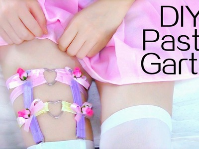 DIY Garter | Pastel Heart Ring Garter
