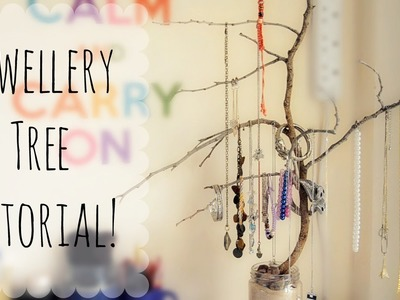 DIY Jewellery Tree | ErinRachel