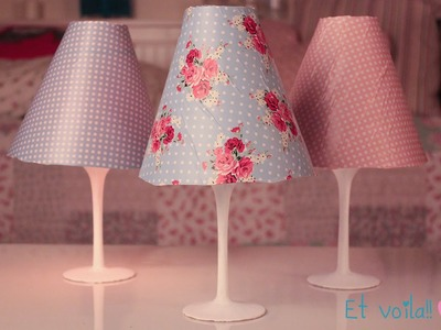 DIY lampshade! Easy room decor ♡ ♡