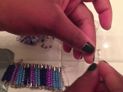 DIY: Safety Pin Bracelet