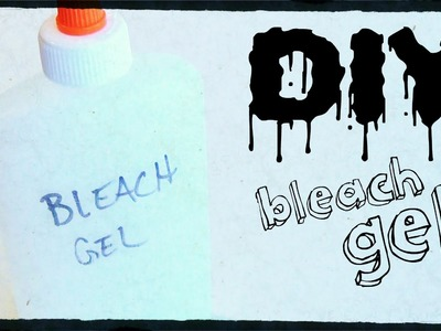 DIY Solutions ♥ DIY Bleach Pen!
