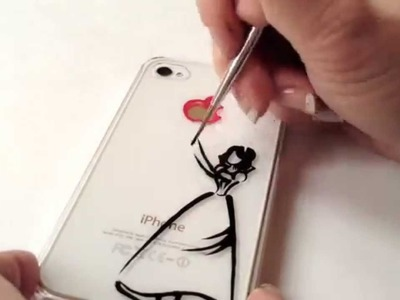 Drawing on iPhone Case: Disney Snow White
