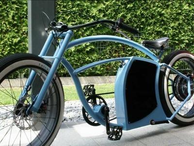 E-bike Enorm V2 custom cruiser