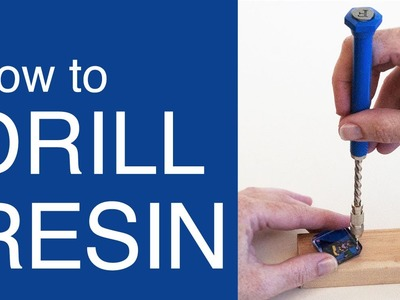 Easy way to drill holes in Resin - by Little Windows