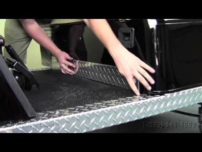 EZGO Diamond Plate Kick Panel | How To Install Video | Golf Cart Diamond Plate Accessories