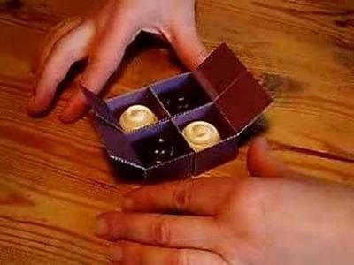 Folding chocolate box