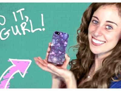 Galaxy Print Phone Case - Do It, Gurl