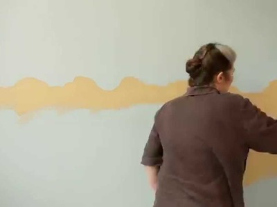 How to create a horizon effect on your walls with Dulux