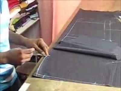 How to cut a female  pants