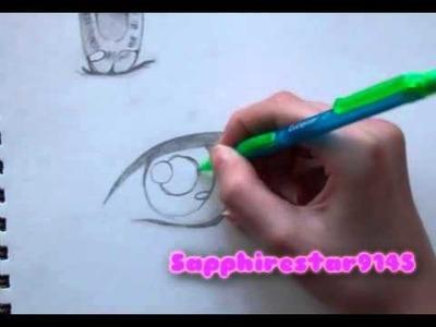 How to Draw Manga Eyes Part 2 : Shounen Eye