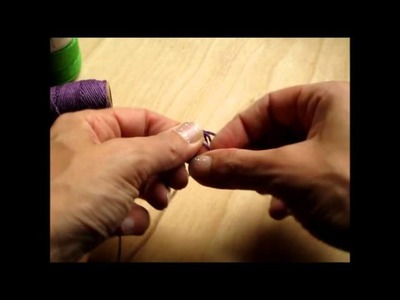 How to Make a Macrame Hemp Ring