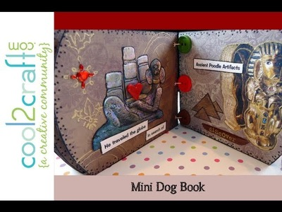 How to Make a Mini Keepsake Dog Book