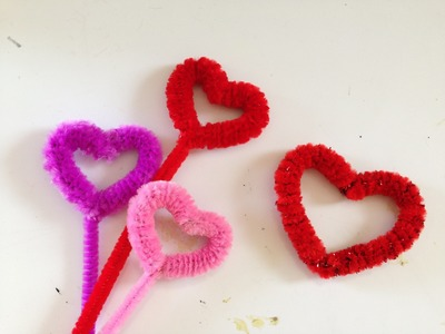 How to make a Pipe Cleaner Heart