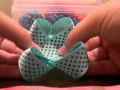 How to make an easy hair bow