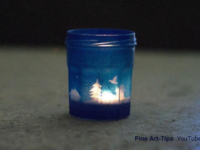 How to Make an Original Lantern - Xmas Special  - DIY - Candle Light
