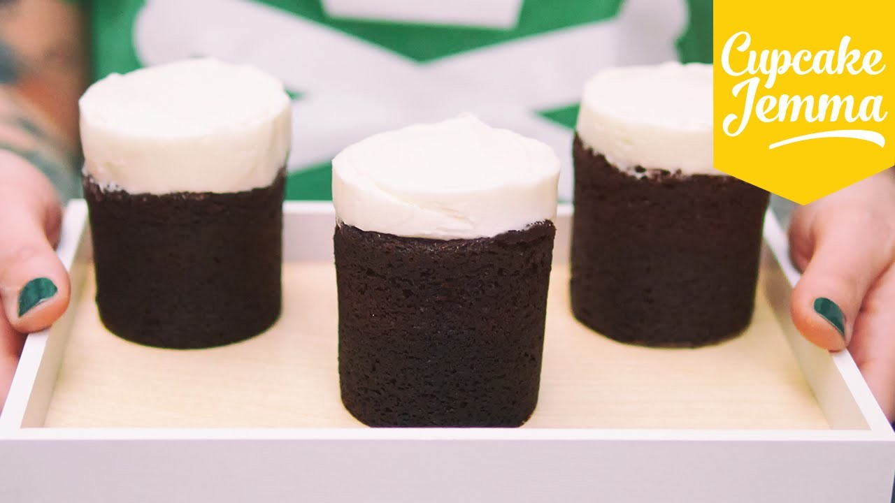 How to make Chocolate Guinness Cakes | Cupcake Jemma Recipe