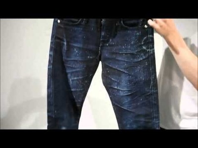 How to make distressed jeans