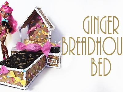 How to make Ginger Breadhouse's Bed [EVER AFTER HIGH]